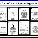 Clothing Care labels