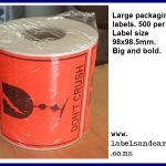 Don't Crush Labels
